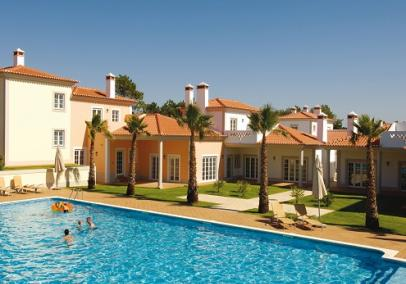 Villa complex Portugal. Villa with pool on Golf & beach resort