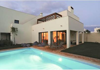 Portugal villas with private pools | martinhal-3-bed-pinewood-villa-image