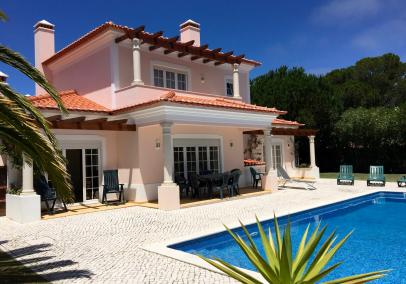 Praia Del Rey villa with heated pool
