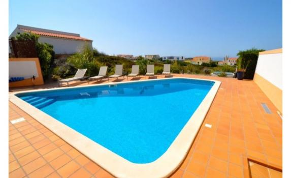 Praia del Rey beach villa with pool